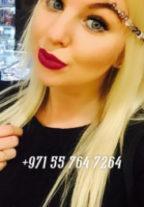 Blonde Beauty Lilu +971557647264 Dubai escort
