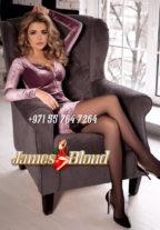 Ultra Sexy Czech Ulya James Blond Escort Girl +971557647264 Dubai escort