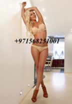 Girlfriend Experience Romanian Blonde Bree +971568251001 Dubai escort