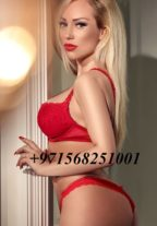 Blonde Russian Girl Alexandra +971568251001 Dubai escort